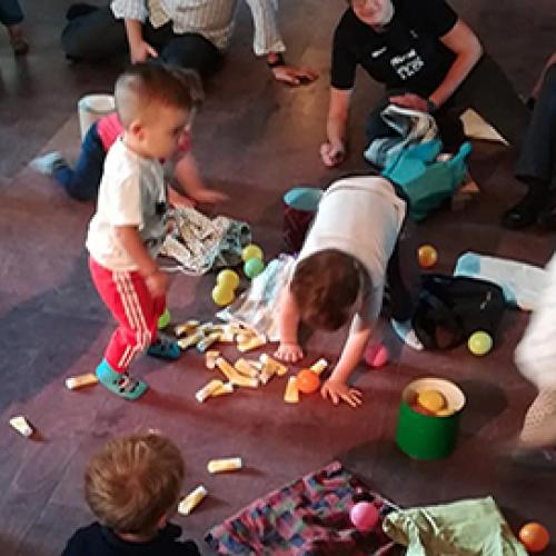 Atelier di famiglia: il gioco euristico
