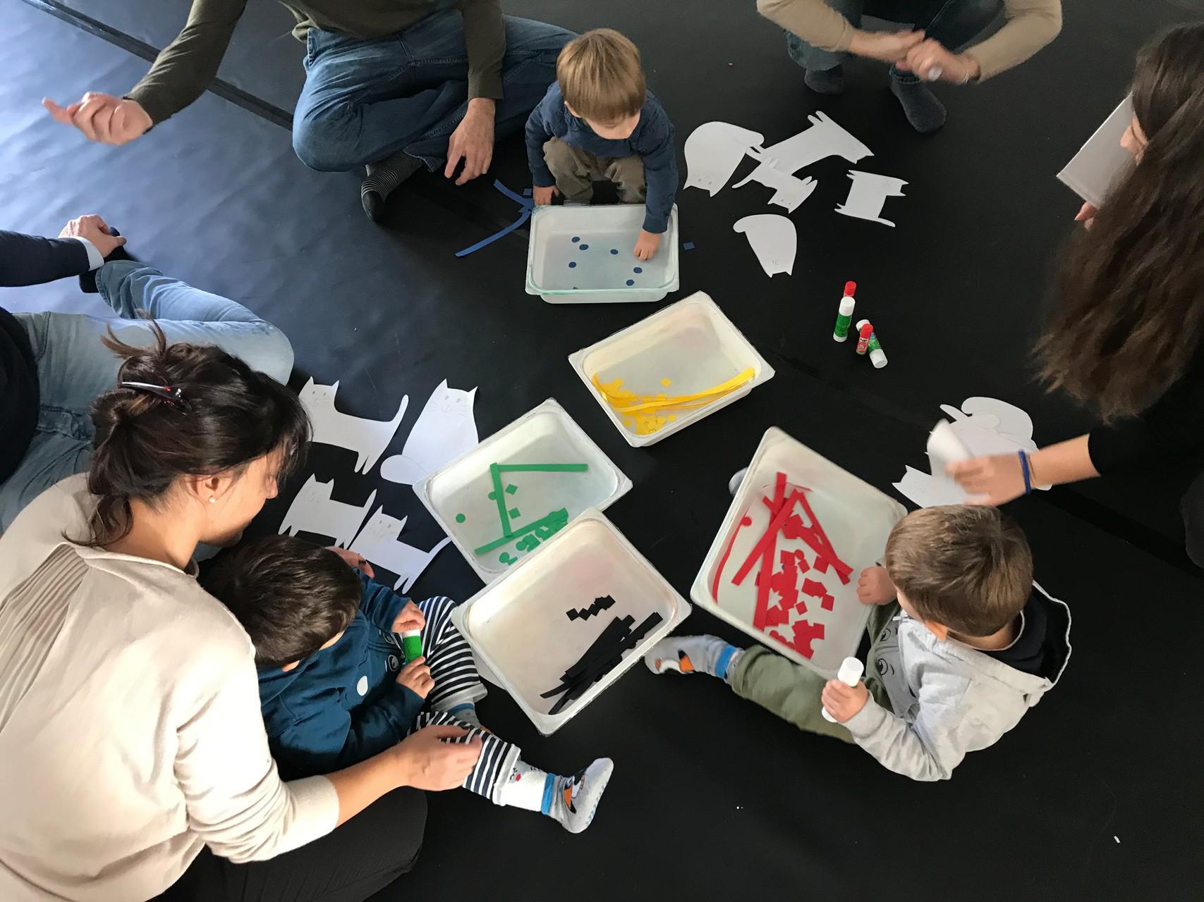 Atelier di famiglia: lettura animata e laboratorio creativo