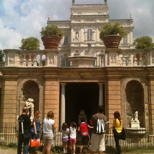 Caccia ai tesori di Villa Pamphilij