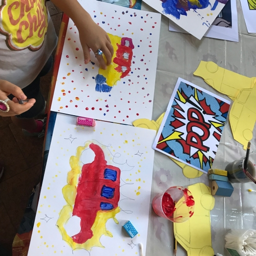 La pop art: laboratorio