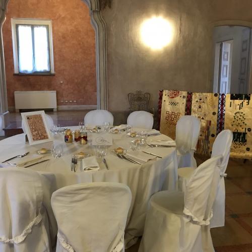 Klimt e l'Albero della vita: allestimento