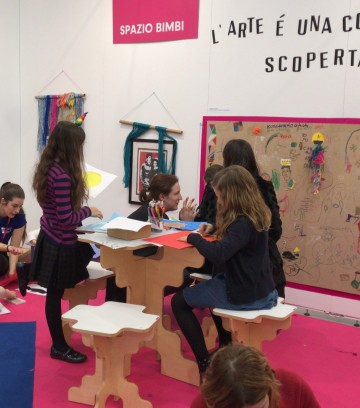 Affordable Art Fair: kids area